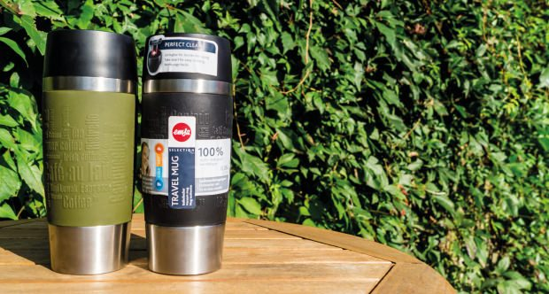"Emsa-Thermobecher ""Travel Mug"" im Test."