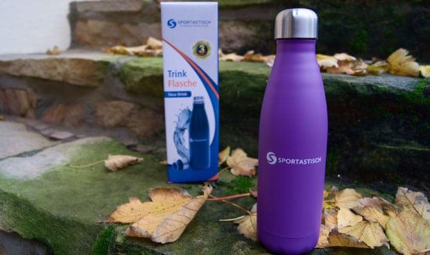 Thermosflasche mit Verpackung im Testbericht