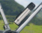 Auch am Fahrrad lässt sich die Iso Bottle von Alfi befestigen.