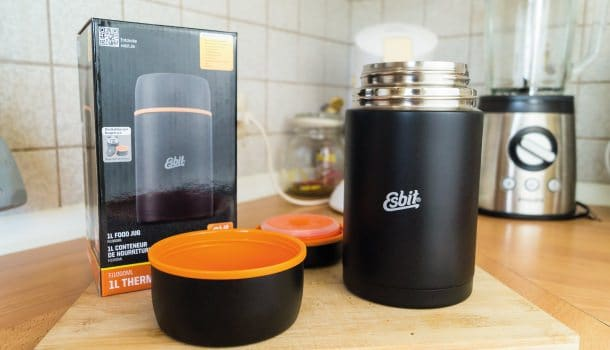 Meine Erfahrungen mit dem Esbit Isolier Foodbehälter.